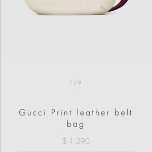 93ac79084 Gucci Bags | Bumbag Fanny Pack White Color Large Size | Poshmark